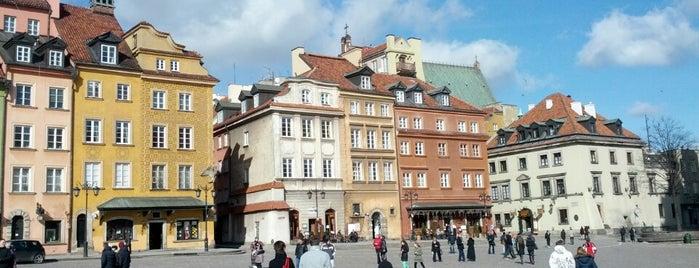 Rynek Starego Miasta is one of Free hotspot WiFi Warszawa.