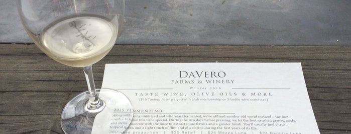 DaVero Winery And Farmstand is one of Wine Road Picnicking- al Fresco Perfetto!.