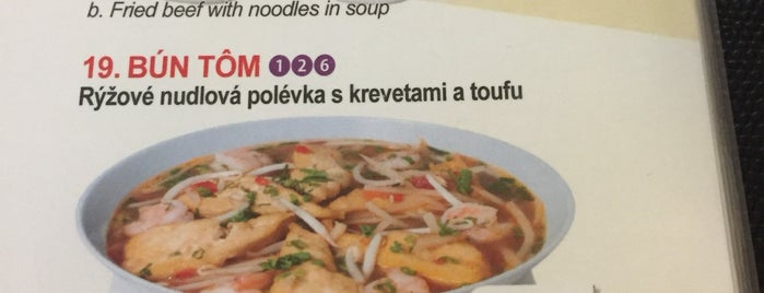 Pho Nusle is one of Restaurační objevy (aka TODO).