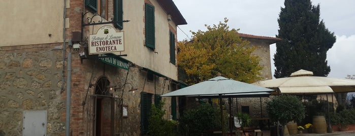 Ristorante Enoteca Bottega di Lornano is one of Chianti Classico Producers.