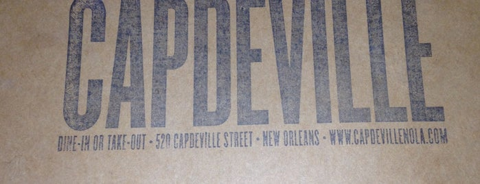 Capdeville is one of Offbeat's favorite New Orleans restaurants.