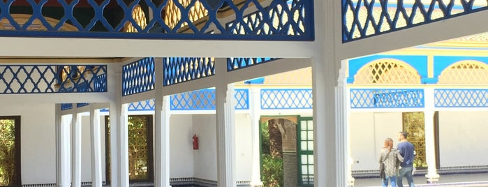 Palais Bahia is one of Travel Guide to Marrakesh.