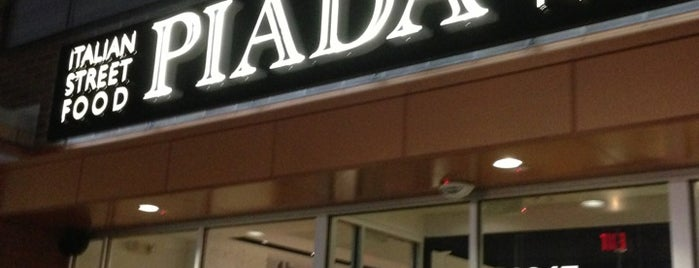 Piada Italian Street Food is one of Places tried: recommend.