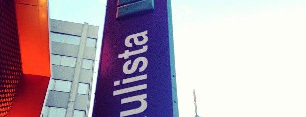 Estação Paulista (Metrô) is one of São Paulo ABC, Bares/Cafés, Restaurantes Shoppings.