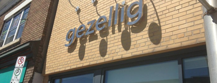 Gezellig is one of Restaurants to Try.