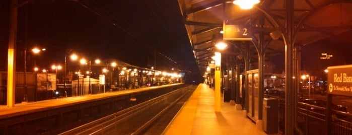 NJT - Red Bank Station (NJCL) is one of New Jersey Transit Train Stations I Have Been To.