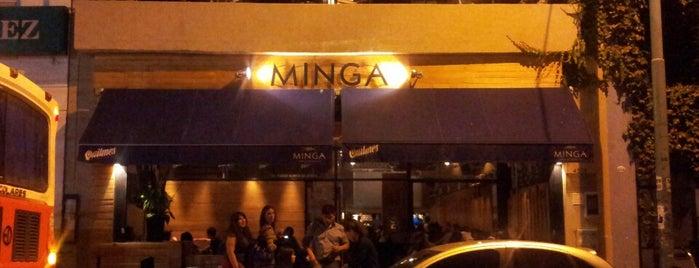 Minga is one of Guide to Bs As's best spots.