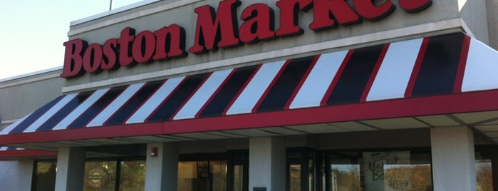 Boston Market is one of Food joints.