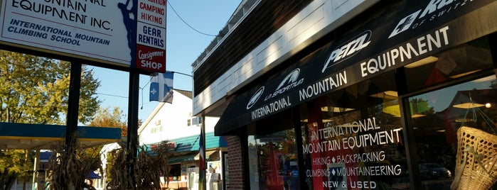 International Mountain Equipment is one of White Mountains.
