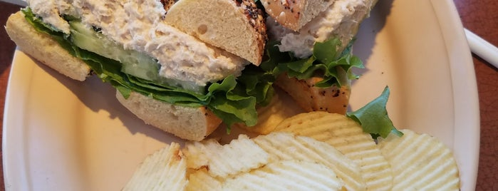 Bageltowne Deli is one of Favorite places to get food!.
