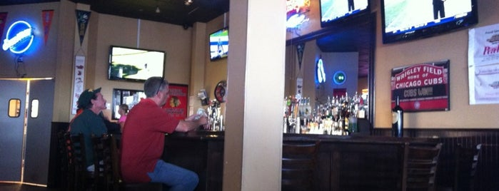 Joe's Stationhouse Pizza Pub is one of Official Blackhawks Bars.