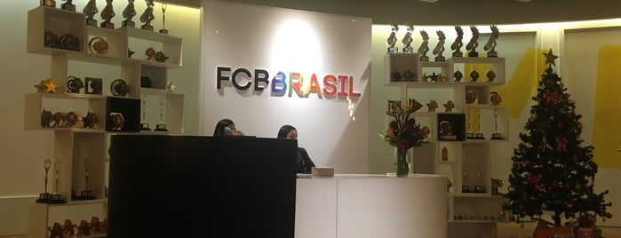 FCB Brasil is one of Advertising - Sao Paulo, Brazil.