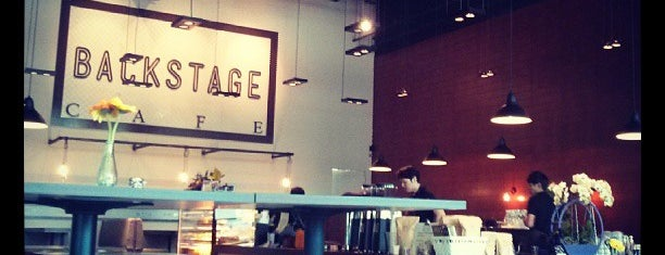 Backstage Cafe is one of To Check Out - Chillax.