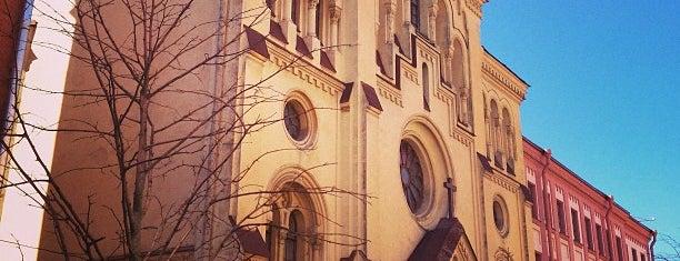 Шведская церковь Святой Екатерины is one of Sights in Saint Petersburg & suburban places.