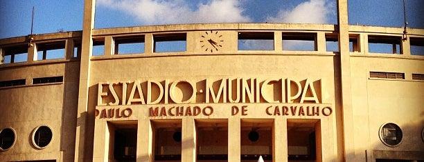 Estádio Municipal Paulo Machado de Carvalho (Pacaembu) is one of São Paulo - O que tem por perto?.