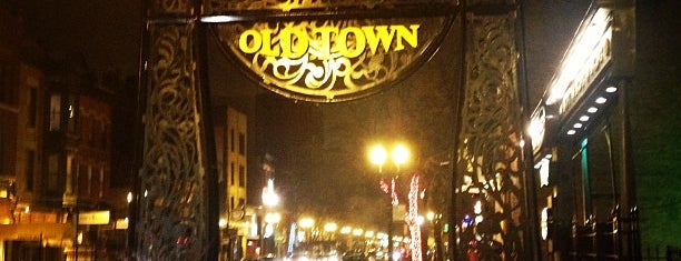 Old Town is one of Chicago Bucketlist.