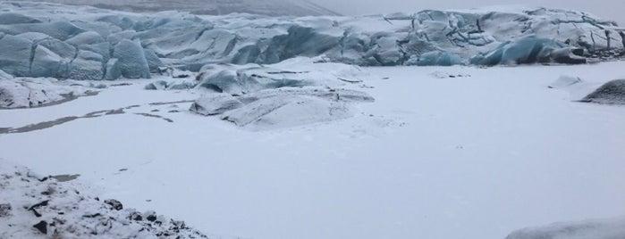Svínafellsjökull is one of Europa.