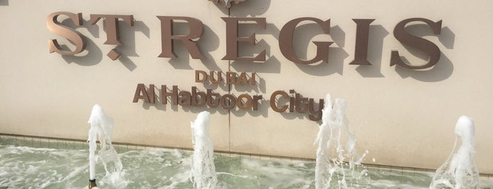 The St. Regis Dubai is one of 2016 - DXB.