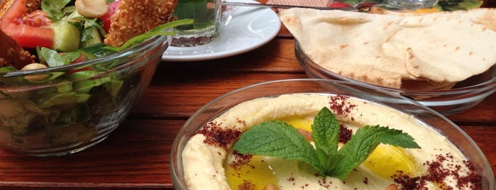 Fatoush is one of Berlin Food.