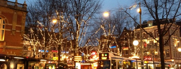 Leidseplein is one of Amsterdam.