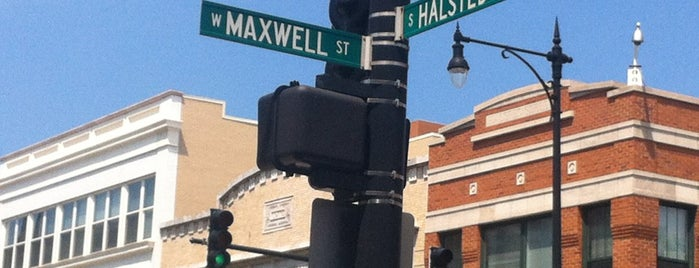 Location of Historic Maxwell Street Market is one of Explore Chicago - On Location.