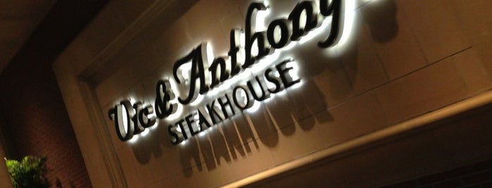 Vic & Anthony's Steakhouse is one of Jade's Favorites.