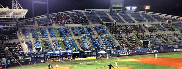 Masan Baseball Stadium is one of KBO Baseball Stadiums for Triple play badge.