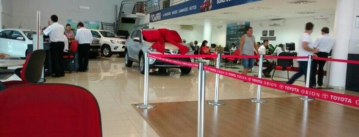 Órion Veículos - Concessionária Toyota is one of Dealers.