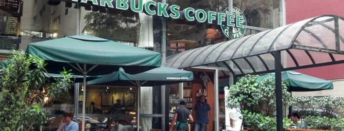 Starbucks is one of Café & Boulangerie.