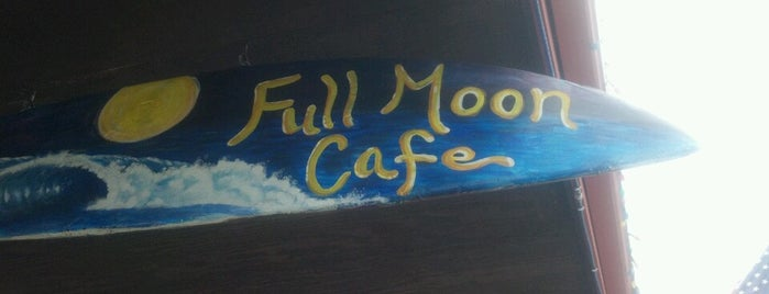 Full Moon Cafe is one of chawaii.