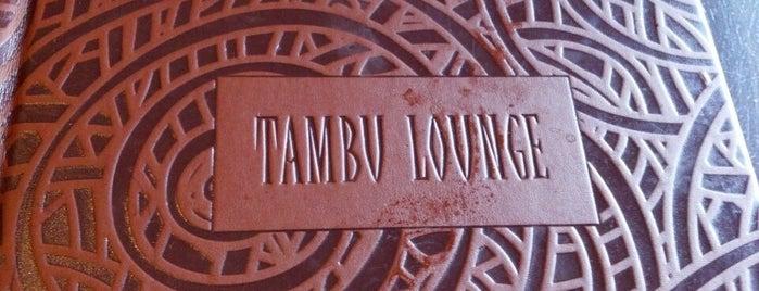 Tambu Lounge is one of Drink.