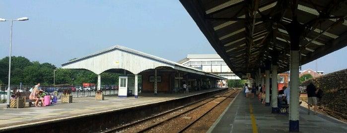 Truro Railway Station (TRU) is one of Cornish haunts.