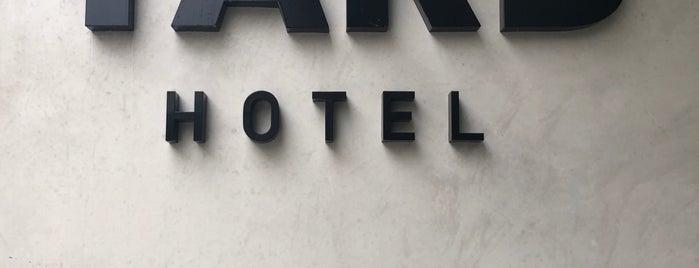 The Yard Hotel is one of Berlijn.