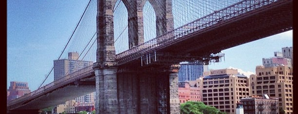 Brooklyn Bridge is one of Documerica.