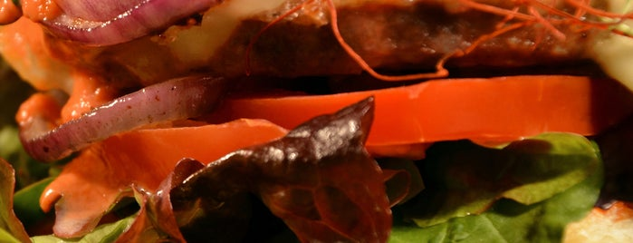 Hirsch & Eber is one of Berlins Best Burger.