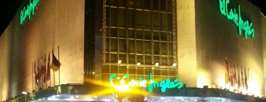 El Corte Inglés is one of Murcia, que hermosa eres!.