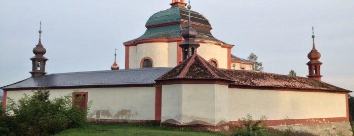 Kaple sv. Jana Nepomuckého is one of churches.