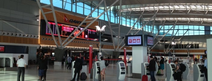 T3 Qantas Domestic Terminal is one of Social around the world.