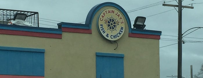 Captain Jay Fish & Chicken is one of Detroit Lunch Bus.