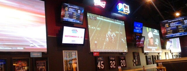 Buffalo Wild Wings is one of My Saved Places.