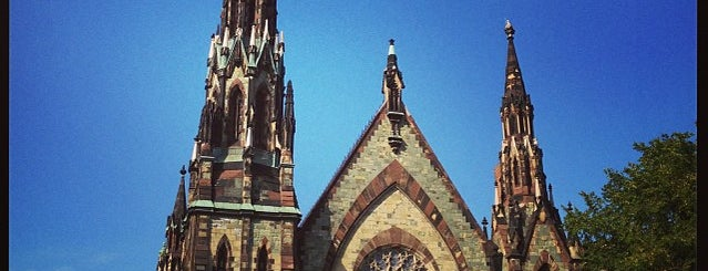 Mt. Vernon Place United Methodist Church is one of Church Exploration.