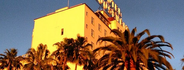 The Hollywood Roosevelt is one of Let's Get Lost.