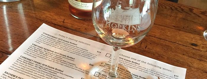 Hopkins Vineyard is one of Connecticut Farm Wineries 2012 Passport.