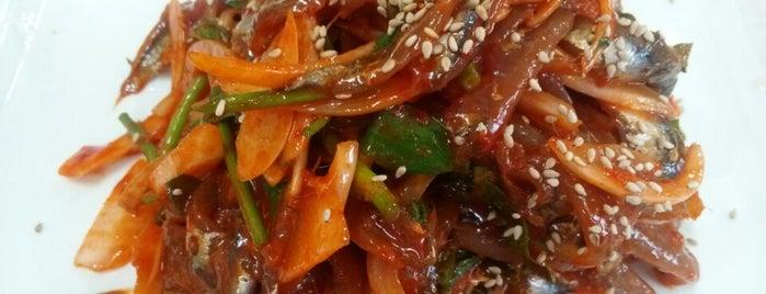 우리식당 is one of food.