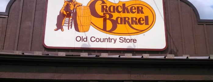 Cracker Barrel Old Country Store is one of Restaurants visited.