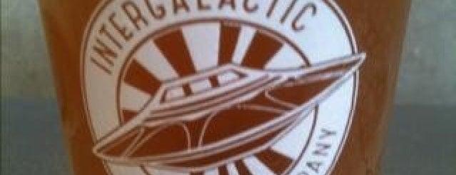 Intergalactic Brewing Company is one of LAS/LAX/SAN.