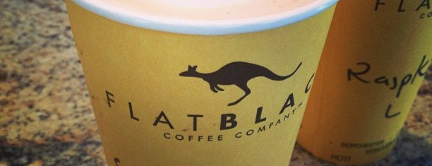 Flat Black Coffee Company is one of Must See Boston.