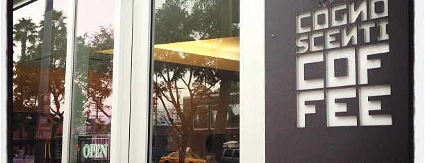 Cognoscenti Coffee Bar is one of LA Coffee Crawl.