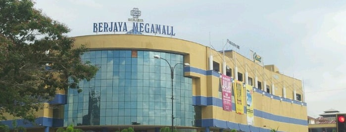 Berjaya Megamall is one of The Maps.