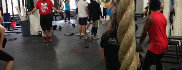 CrossFit NYC is one of Crossfit.